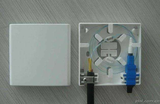 FTTH terminal box 2 core / wall outlet box FOTB-02